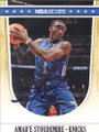 AMAR'E STOUDEMIRE NEW YORK KNICKS AUTOGRAPHED BASKETBALL CARD #12215E