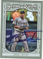 JOSE QUINTANA CHICAGO WHITE SOX AUTOGRAPHED BASEBALL CARD #12915H
