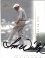 TOM WEISKOPF AUTOGRAPHED GOLF CARD #20615B