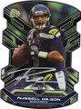 RUSSELL WILSON SEATTLE SEAHAWKS AUTOGRAPHED FOOTBALL CARD #20315C