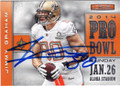 JIMMY GRAHAM NEW ORLEANS SAINTS AUTOGRAPHED FOOTBALL CARD #20315E