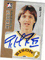 PATRICK ROY GRANDBY BISONS AUTOGRAPHED HOCKEY CARD #20515G