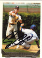 CRAIG BIGGIO HOUSTON ASTROS AUTOGRAPHED BASEBALL CARD #20515H
