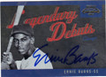 ERNIE BANKS CHICAGO CUBS AUTOGRAPHED BASEBALL CARD #20515J