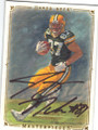 JORDY NELSON GREEN BAY PACKERS AUTOGRAPHED ROOKIE FOOTBALL CARD #20515K