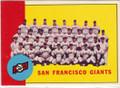 SAN FRANCISCO GIANTS TEAM PIC VINTAGE CARD #20515N