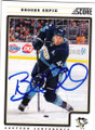 BROOKS ORPIK PITTSBURGH PENGUINS AUTOGRAPHED HOCKEY CARD #20615E