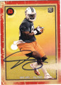 DION SIMS MIAMI DOLPHINS AUTOGRAPHED ROOKIE FOOTBALL CARD #20715J