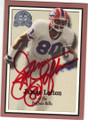 JAMES LOFTON BUFFALO BILLS AUTOGRAPHED FOOTBALL CARD #20815C