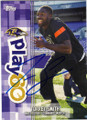 TORREY SMITH BALTIMORE RAVENS AUTOGRAPHED FOOTBALL CARD #20815O