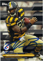 Le'VEON BELL PITTSBURGH STEELERS AUTOGRAPHED FOOTBALL CARD #20915C