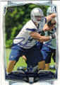ZACK MARTIN DALLAS COWBOYS AUTOGRAPHED ROOKIE FOOTBALL CARD #20915J
