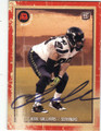 JESSE WILLIAMS SEATTLE SEAHAWKS AUTOGRAPHED ROOKIE FOOTBALL CARD #21015E