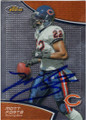 MATT FORTE CHICAGO BEARS AUTOGRAPHED FOOTBALL CARD #21015H