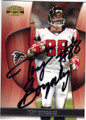 TONY GONZALEZ ATLANTA FALCONS AUTOGRAPHED FOOTBALL CARD #21315B