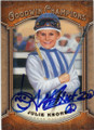 JULIE KRONE HORSE RACING JOCKEY AUTOGRAPHED CARD #21315C