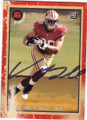 VANCE McDONALD SAN FRANCISCO 49ers AUTOGRAPHED ROOKIE FOOTBALL CARD #22215G