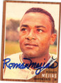 ROMAN MEJIAS HOUSTON COLTS AUTOGRAPHED VINTAGE BASEBALL CARD #22215J