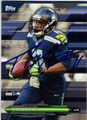 PERCY HARVIN SEATTLE SEAHAWKS AUTOGRAPHED FOOTBALL CARD #22215O