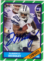 DeMARCO MURRAY DALLAS COWBOYS AUTOGRAPHED FOOTBALL CARD #22415A