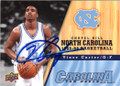 VINCE CARTER NORTH CAROLINA TAR HEELS AUTOGRAPHED BASKETBALL CARD #22415E