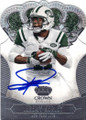 JEREMY KERLEY NEW YORK JETS AUTOGRAPHED FOOTBALL CARD #22515A