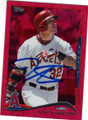 JOSH HAMILTON LOS ANGELES ANGELS OF ANAHEIM AUTOGRAPHED BASEBALL CARD #22515C