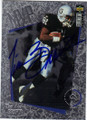 TIM BROWN LOS ANGELES RAIDERS AUTOGRAPHED FOOTBALL CARD #22515G