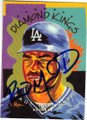 RAUL MONDESI LOS ANGELES DODGERS AUTOGRAPHED BASEBALL CARD #22615D