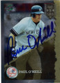 PAUL O'NEILL NEW YORK YANKEES AUTOGRAPHED BASEBALL CARD #22615G