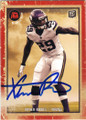XAVIER RHODES MINNESOTA VIKINGS AUTOGRAPHED ROOKIE FOOTBALL CARD #22615i