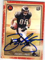 ZACH ERTZ PHILADELPHIA EAGLES AUTOGRAPHED ROOKIE FOOTBALL CARD #22615O