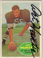 ART HUNTER LOS ANGELES RANS AUTOGRAPHED VINTAGE FOOTBALL CARD #22715B