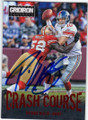PATRICK WILLIS SAN FRANCISCO 49ers AUTOGRAPHED FOOTBALL CARD #22715J