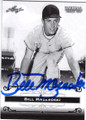 BILL MAZEROSKI PITTSBURGH PIRATES AUTOGRAPHED BASEBALL CARD #30315F