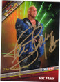 RIC FLAIR AUTOGRAPHED WRESTLING CARD #30515D
