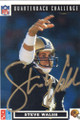 STEVE WALSH NEW ORLEANS SAINTS AUTOGRAPHED FOOTBALL CARD #30515E