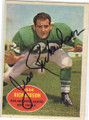 JESSE RICHARDSON PHILADELPHIA EAGLES AUTOGRAPHED VINTAGE FOOTBALL CARD #30915F