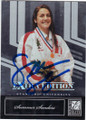 SUMMER SANDERS OLYMPIC SWIMMER AUTOGRAPHED CARD #30915i