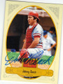 JOHNNY BENCH CINCINNATI REDS AUTOGRAPHED BASEBALL CARD #31015C