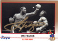 JOE FRAZIER AUTOGRAPHED BOXING CARD #31015J