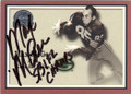 MAX McGEE GREEN BAY PACKERS AUTOGRAPHED FOOTBALL CARD #31115B