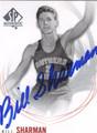 BILL SHARMAN USC TROJANS AUTOGRAPHED BASKETBALL CARD #31115J