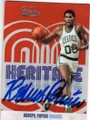 ROBERT PARISH BOSTON CELTICS AUTOGRAPHED BASKETBALL CARD #31415D