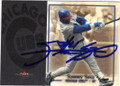 SAMMY SOSA CHICAGO CUBS AUTOGRAPHED BASEBALL CARD #31415G