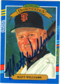 MATT WILLIAMS SAN FRANCISCO GIANTS AUTOGRAPHED BASEBALL CARD #31615P