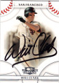WILL CLARK SAN FRANCISCO GIANTS AUTOGRAPHED BASEBALL CARD #31715i