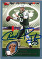 CHAD PENNINGTON NEW YORK JETS AUTOGRAPHED FOOTBALL CARD #31815A