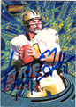 BILLY JOE TOLLIVER NEW ORLEANS SAINTS AUTOGRAPHED & NUMBERED FOOTBALL CARD #31815D