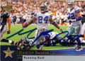 MARION BARBER III DALLAS COWBOYS AUTOGRAPHED FOOTBALL CARD #31915F